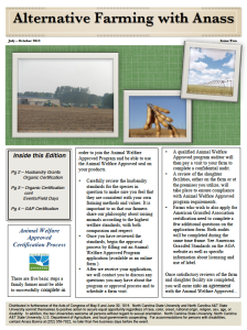Cover photo for Latest Edition of Alternative Farming With Anass