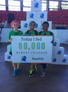 Cover photo for Hertford County 4-Her's Help Pack 80,000 Meals