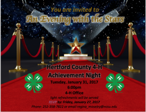 Cover photo for Hertford County 4-H Achievement Night