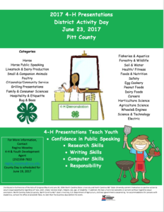 Cover photo for Time to Sign Up for 4-H Presentation Program