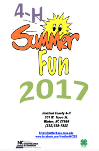 Cover photo for 2017 4-H Summer Fun Filling Up Fast