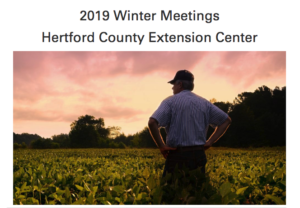 2019 Winter Ag Production Meetings
