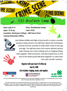 2019 Science Camp