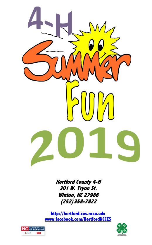 2019 4-H Summer Fun