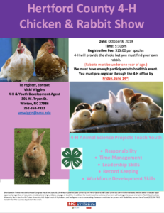 2019 Chicken & Rabbit Show