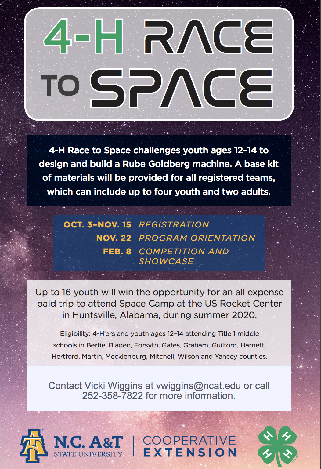 Space Camp Flyer