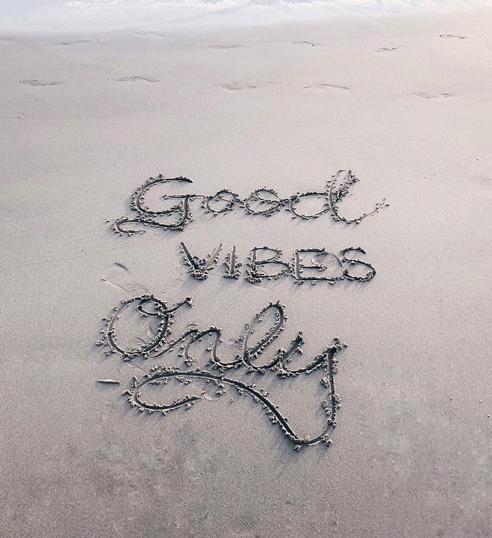 Good Vibes word image