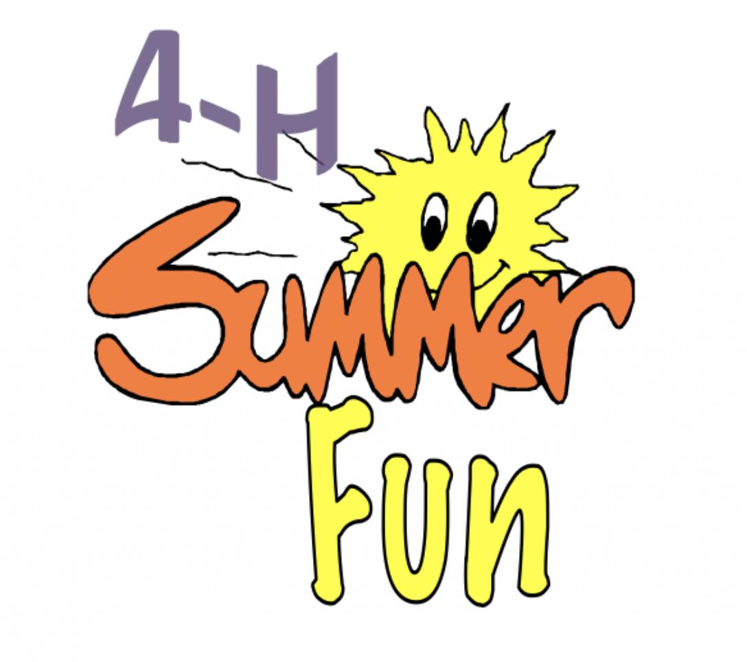 4-H Summer Fun logo